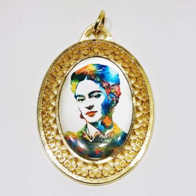 c671ea3d1d63 Gargantilla oro 14k Frida Kahlo Modelo C0278 Gossip Collection 2