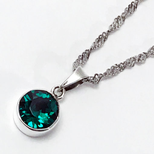 Dije-Color-Esmeralda-Verde-Swarovski-Gossip-Collection-2